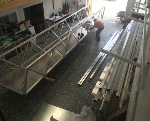 IMG 2778 495x400 New Service   Aluminium Fabrication