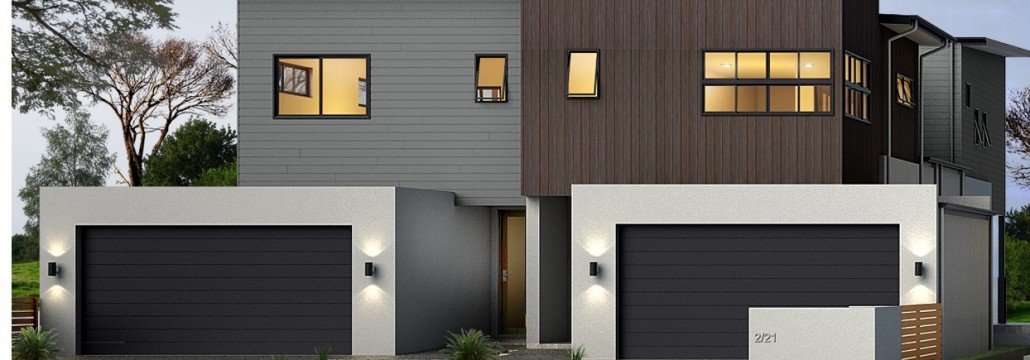 Designer townhouse render